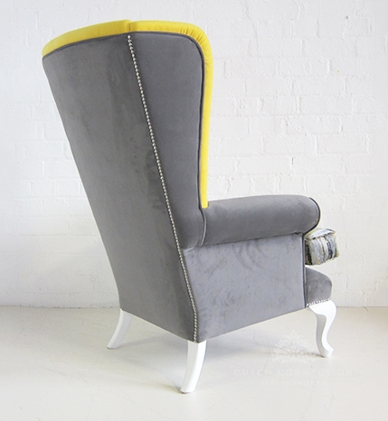 victorian high back wing chair fully upholstered high back wing chair dutch connection. Black Bedroom Furniture Sets. Home Design Ideas