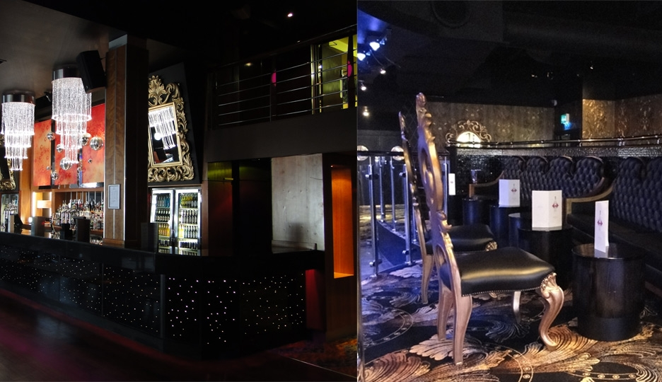Pryzm Nightclub Bristol - we work with designer Glyn Dyer and WFC Contractors supplying furniture to nightclubs across the UK.