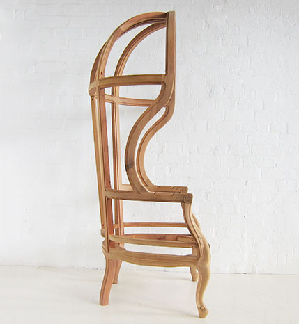 Traditional Mahogany Porters Chair / Hall Porters Chair ...