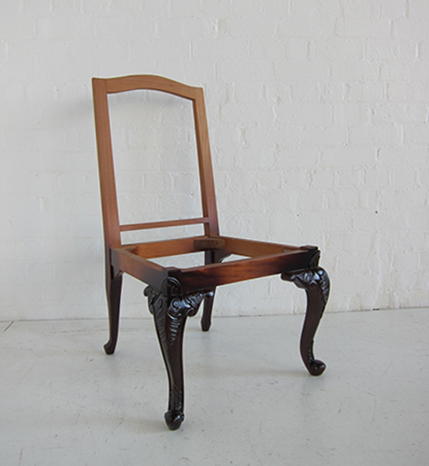 Chippendale Gainsborough Dining Chair Polished In Mahogany Dutch Connection